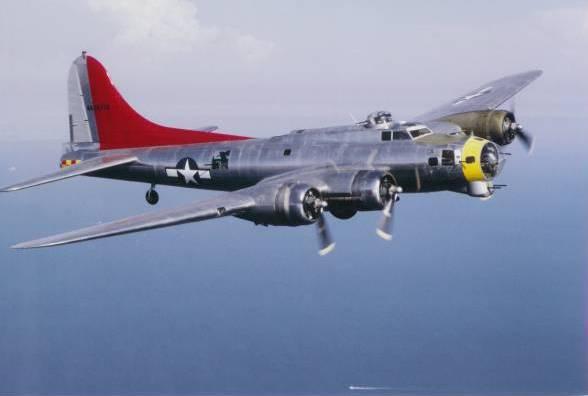 War Is Over >> B-17 Over Palos Verdes